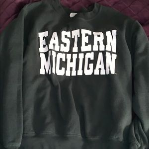 Vintage Eastern Michigan sweater